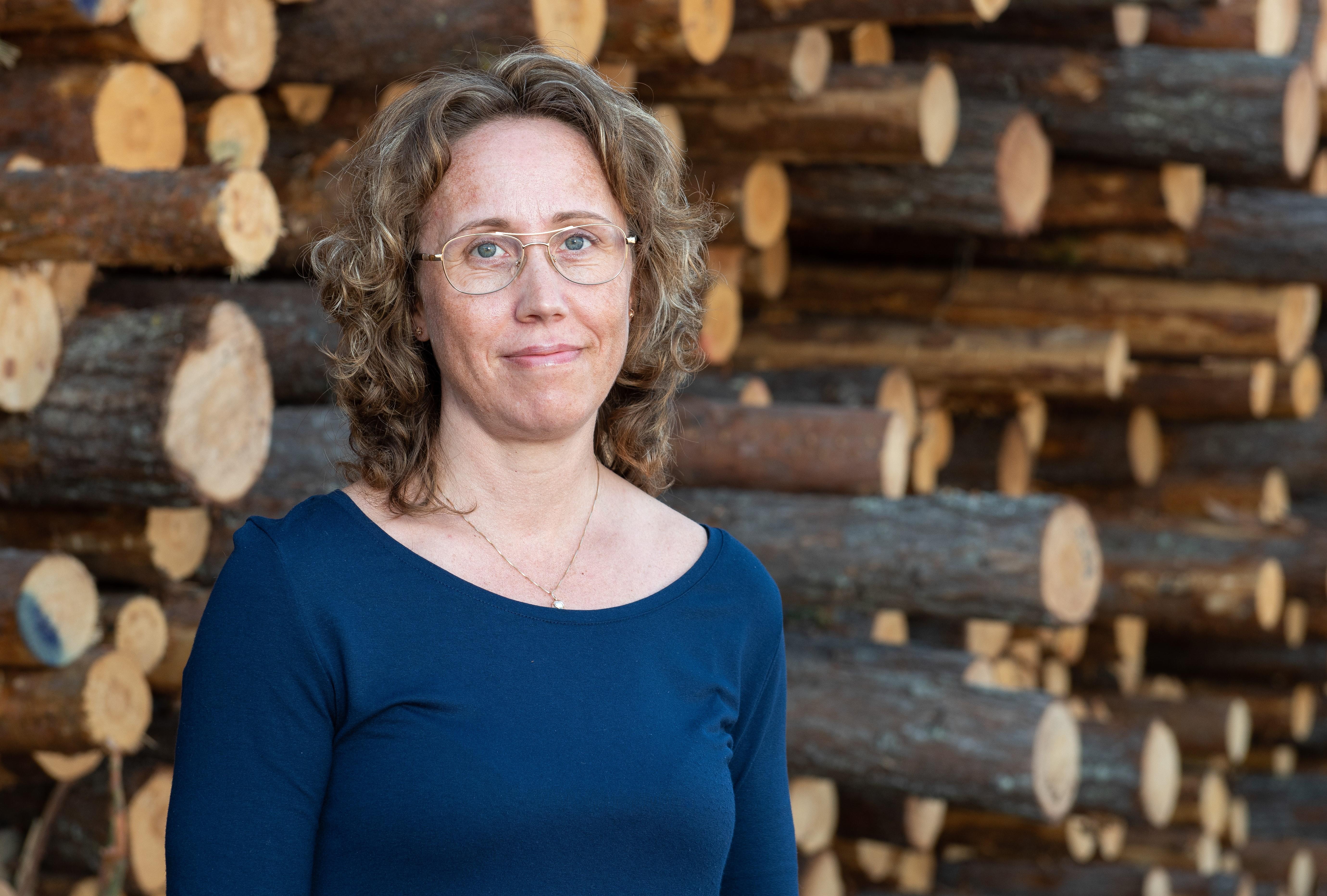 Porträttbild på Ulrika Berglund