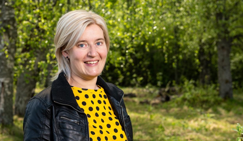Porträttbild på Kristina Olofsson