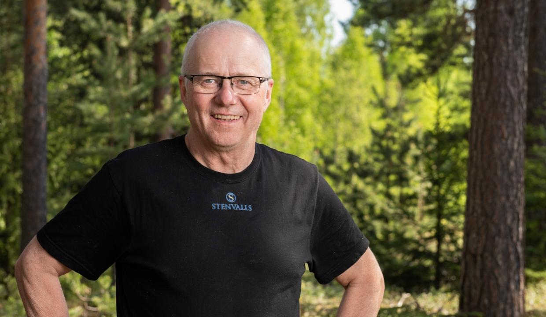 Porträttbild på Lennart Nilsson
