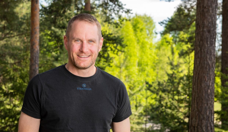 Porträttbild på Roger Bergman