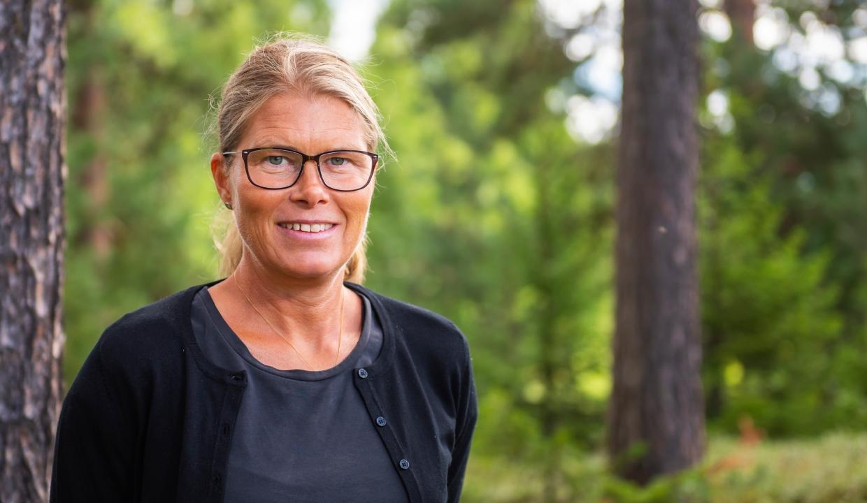 Porträttbild på Annica Ottosson