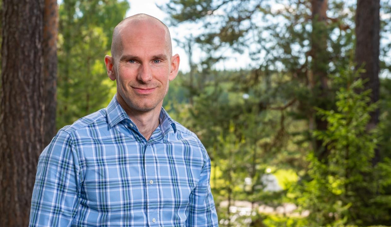 Porträttbild på Johan Lundbäck