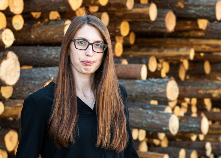 Porträttbild på Madelene Rondahl