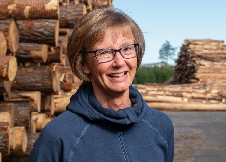 Porträttbild på Rigmor Stenberg