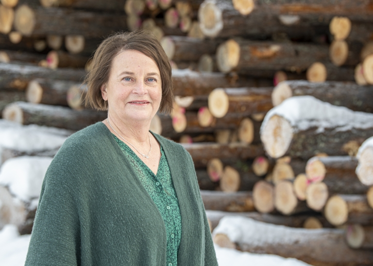 Porträttbild på Berit Sandberg