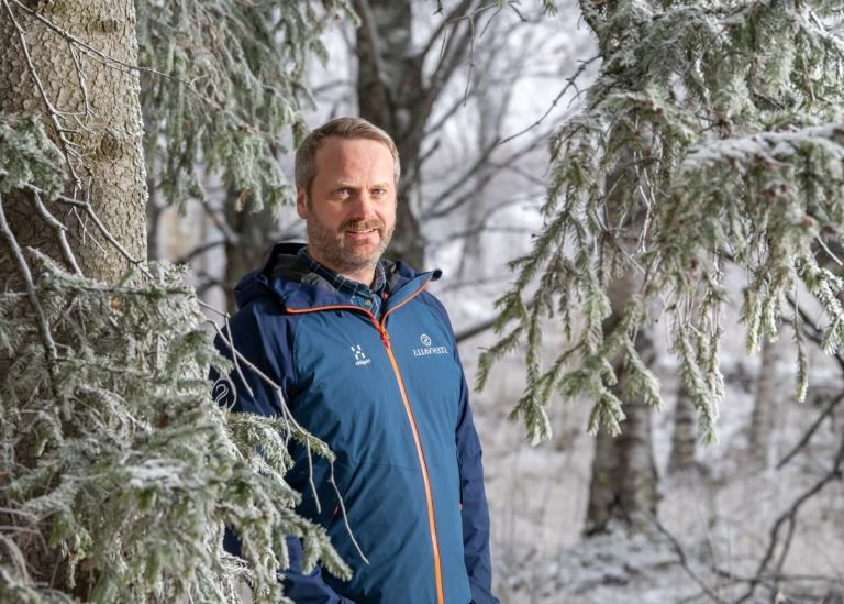Porträttbild på Rikard Rödlund