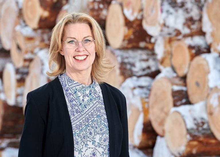 Porträttbild på Maria Åhlund