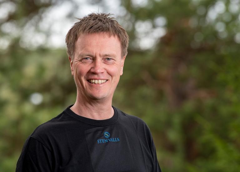 Porträttbild på Dan Olofsson