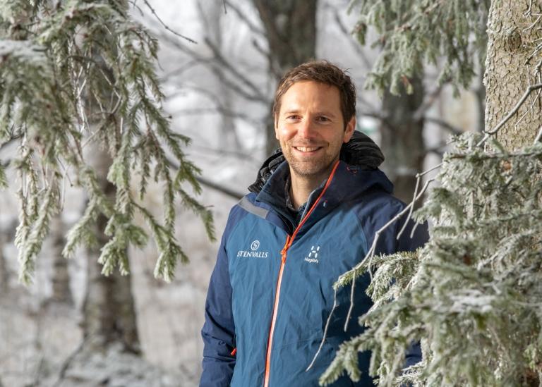 Porträttbild på Erik Hammarberg