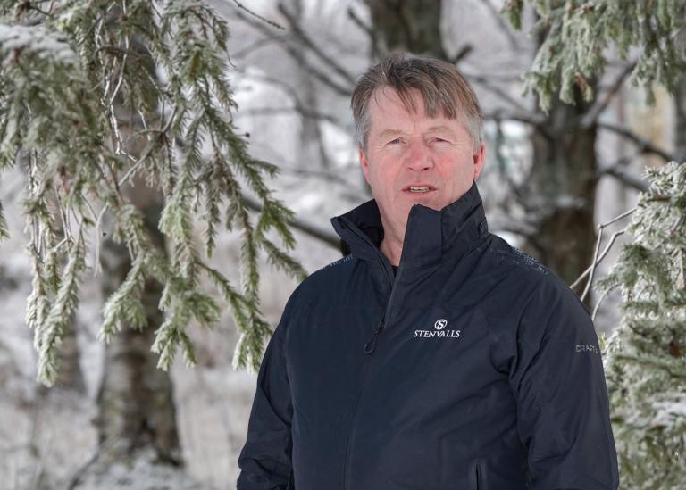 Porträttbild på Lars Forsell