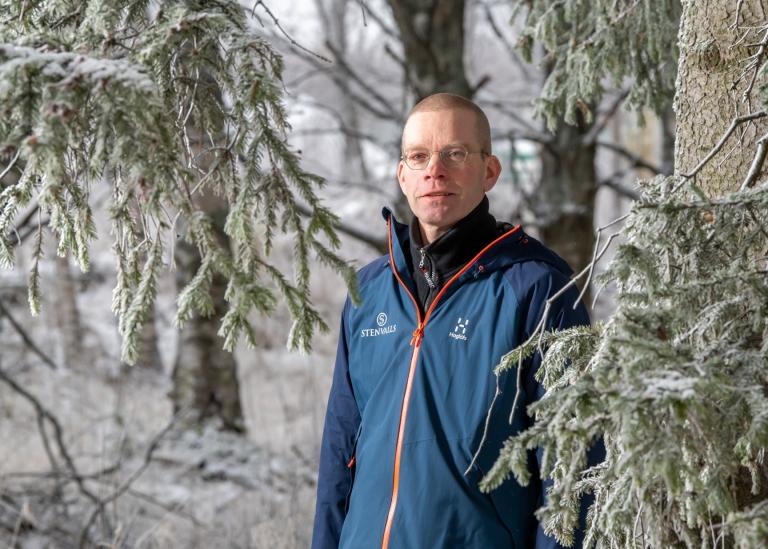 Porträttbild på Lars Lundkvist