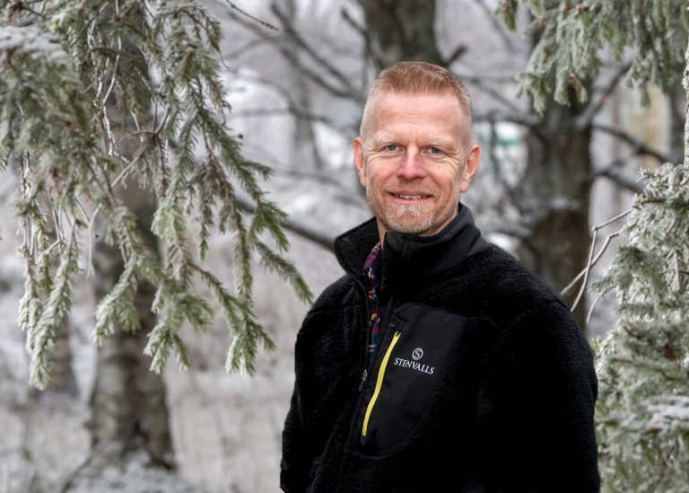 Porträttbild på Magnus Gladh