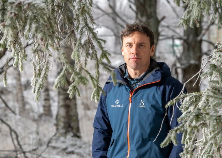Portrait of Ola Lindström