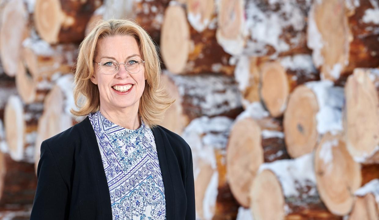 Porträttbild på Maria Hansén