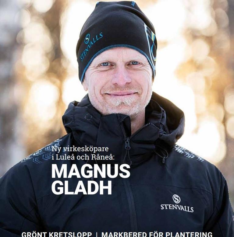 Stenvalls Magasinet en företagstidning med information om aktuella händelser inom Stenvalls Trä