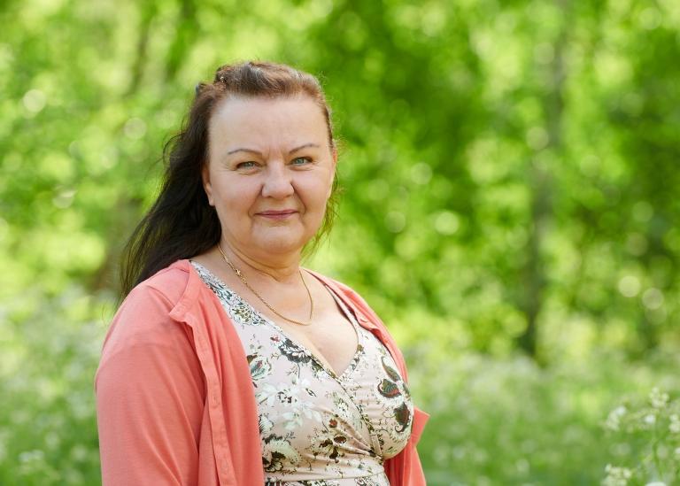 Porträttbild på Aila Koolmeister