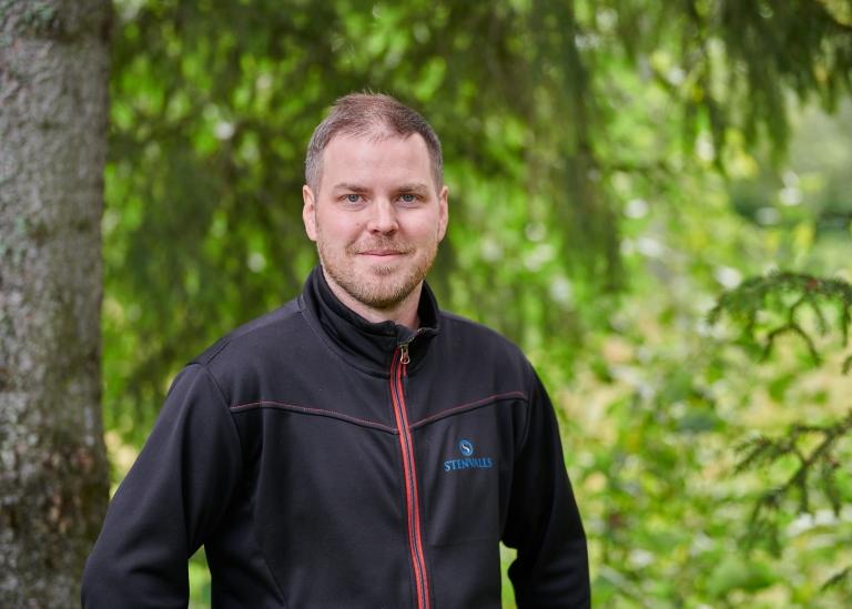Porträttbild på Erik Lundqvist